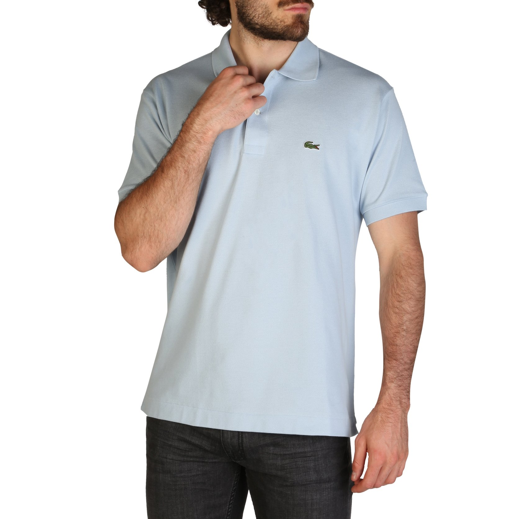 Lacoste Men's Polo Shirt Various Colours L1212_REGULAR - blue-4 S