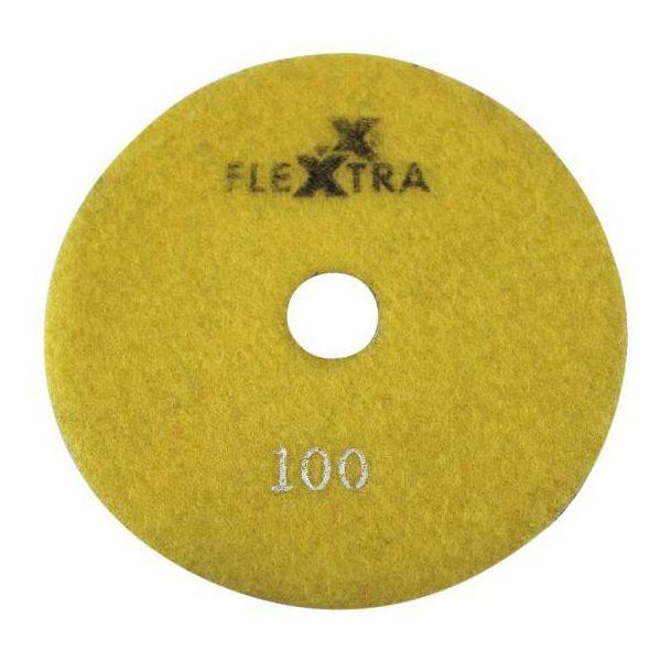 Flexxtra 100.170 Diamantslipeskive 125 x 4 mm, våt/tørr Grit 100