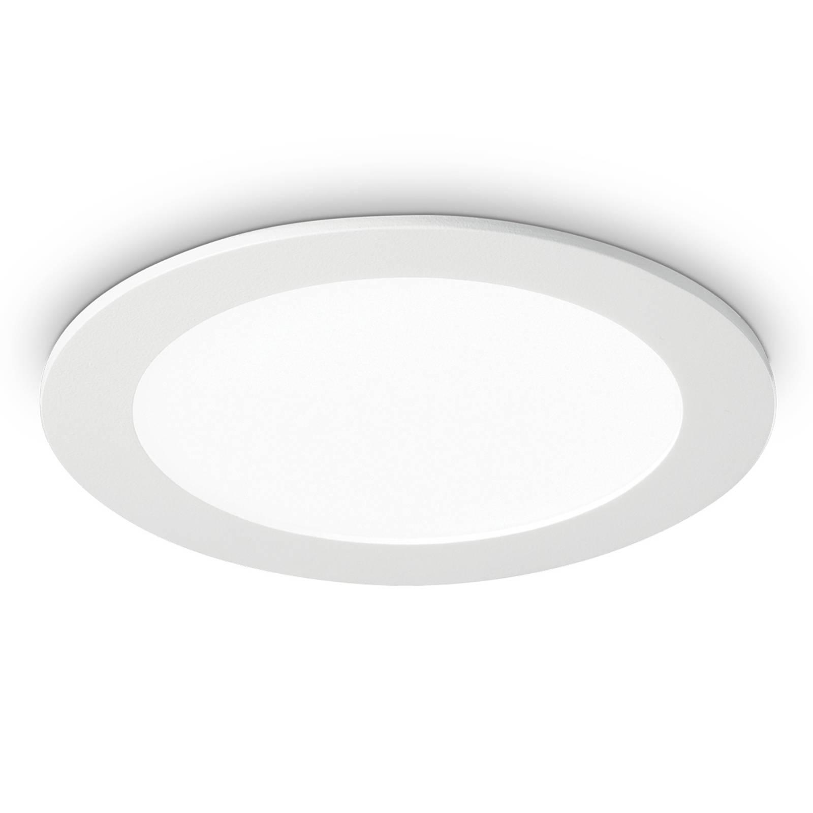 LED-kattouppovalaisin Groove round 3 000 K, 22,7cm