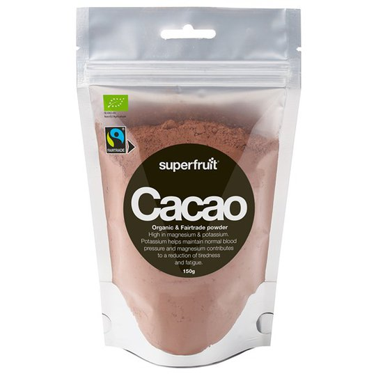 Superfruit Ekologiskt Kakaopulver Fairtrade, 150 g