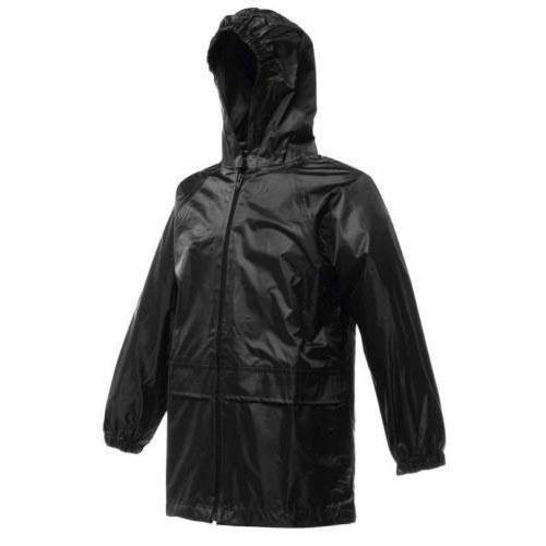 Regatta Kid's Stormbreak Waterproof Jacket Various Colours L_W908 - Black 2 Years