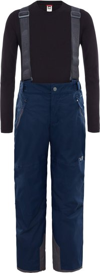 The North Face Snowquest Suspender Plus Bukse Barn, Cosmic Blue L