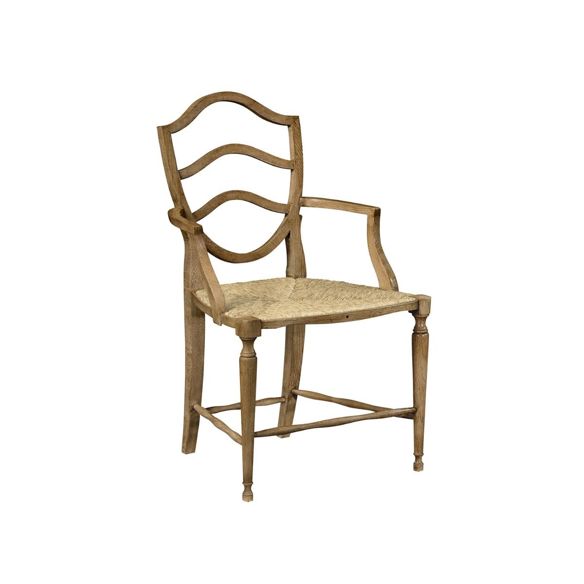 William Yeoward | Bodiam Carver Chair Washed Oak
