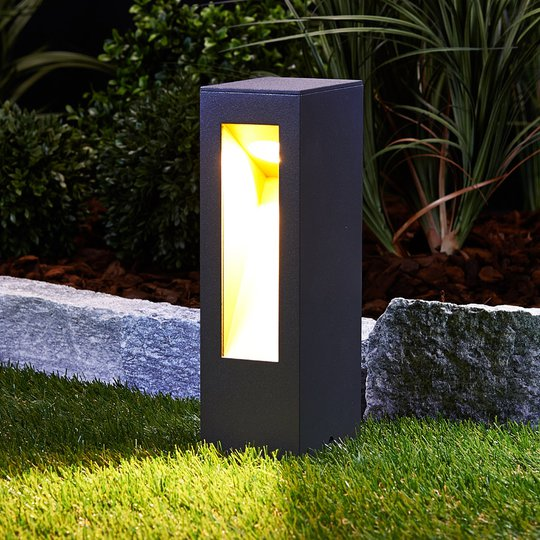 LED-pollarivalaisin Jenke alumiini