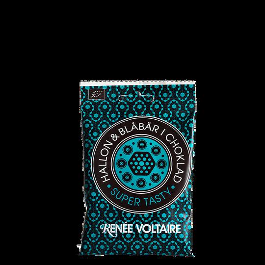 Hallon & Blåbär i Choklad EKO, 55 g