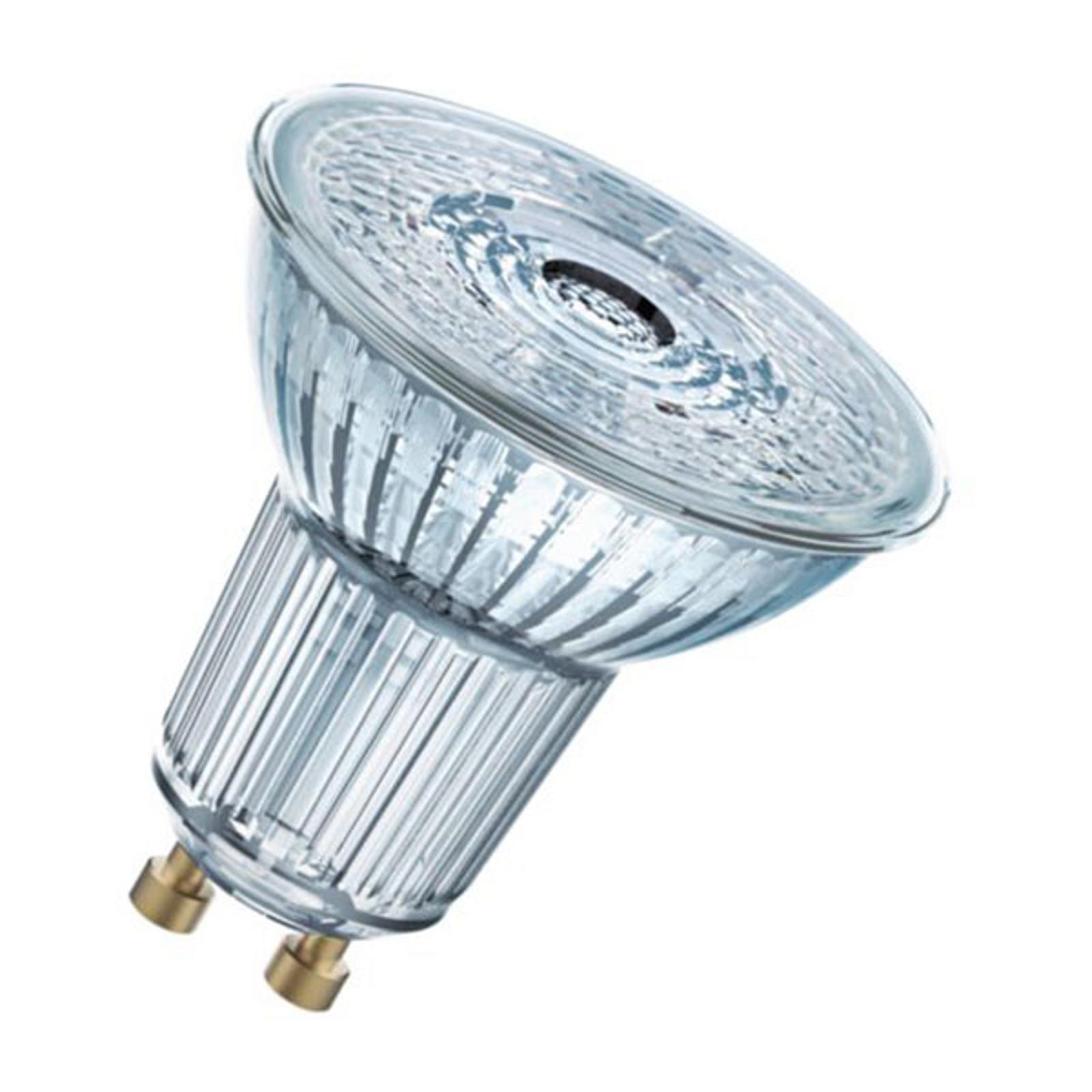 OSRAM-LED-heljastin GU10 4,3W PAR16 827 36° 3 kpl