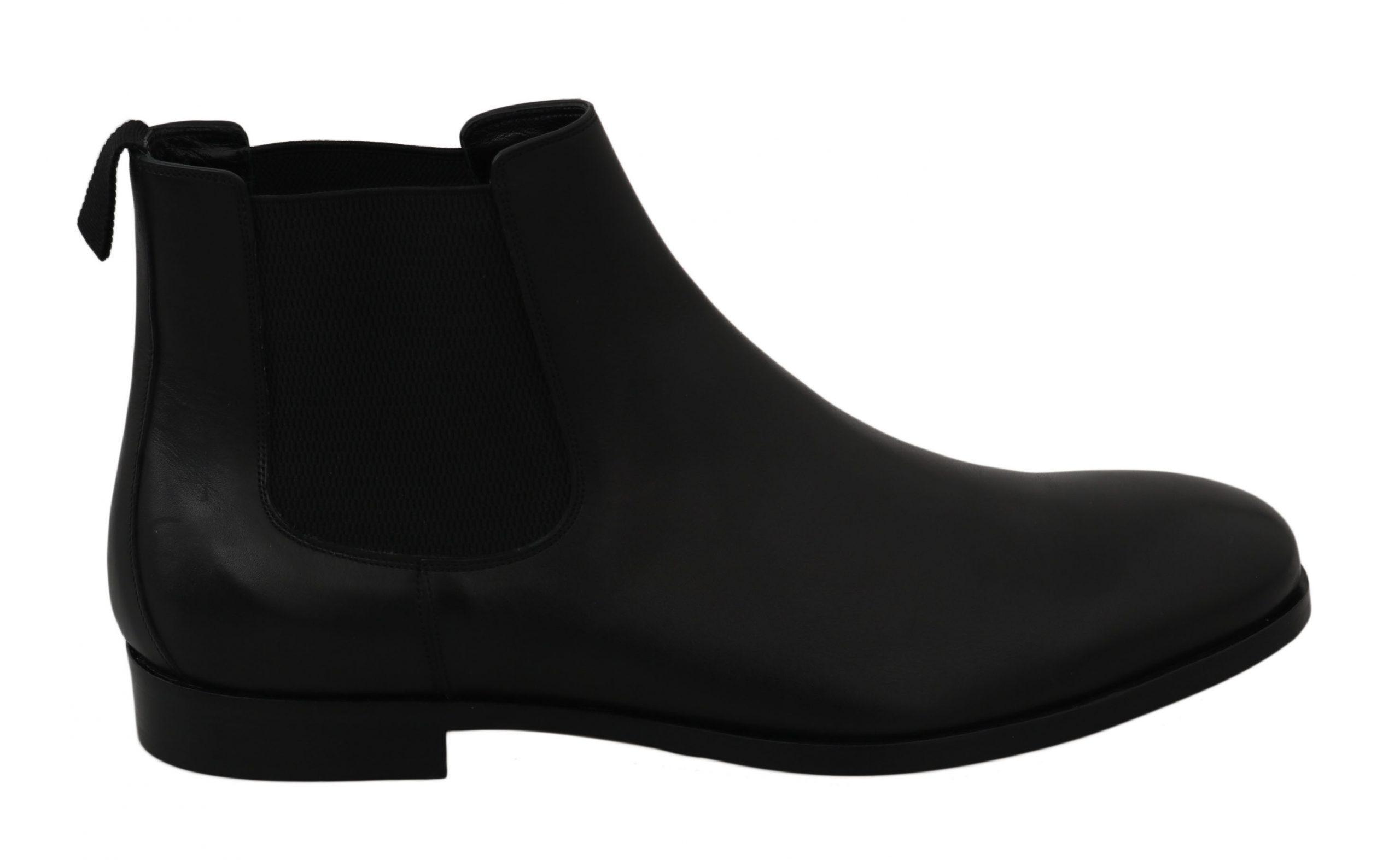 Dolce & Gabbana Men's Shoes Black MV2330 - EU39/US6