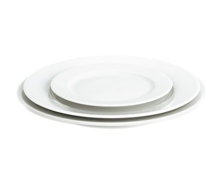 Sancerre tallerken flat hvit, Ø 28 cm