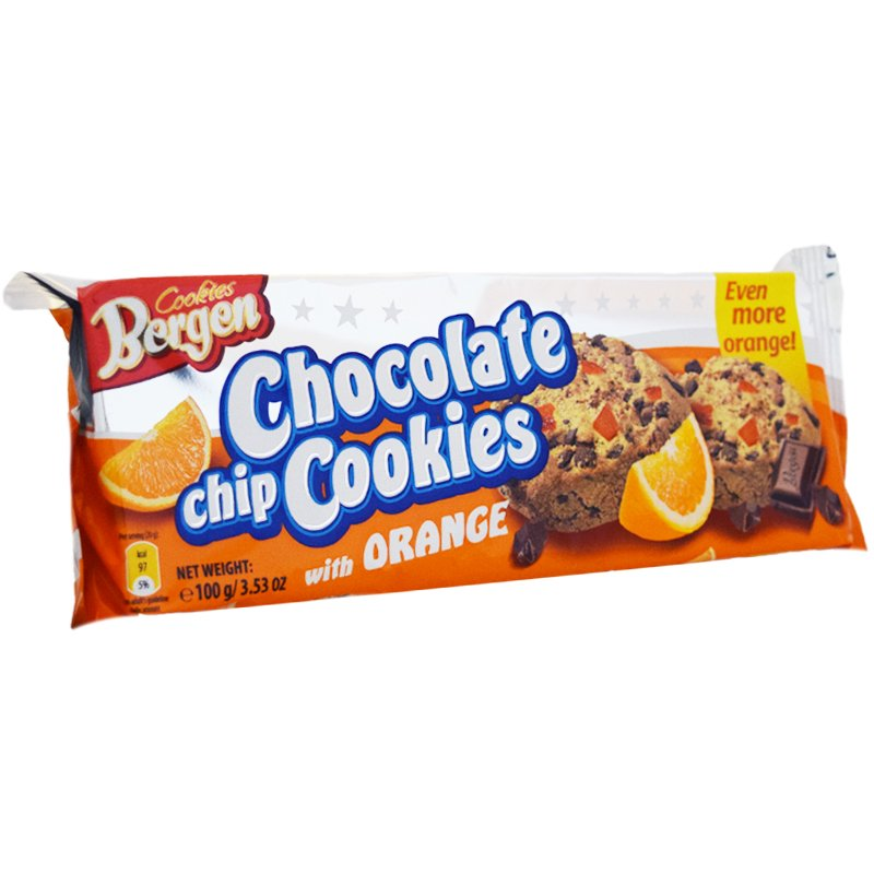 Keksit, Suklaa & Appelsiini 100g - 34% alennus
