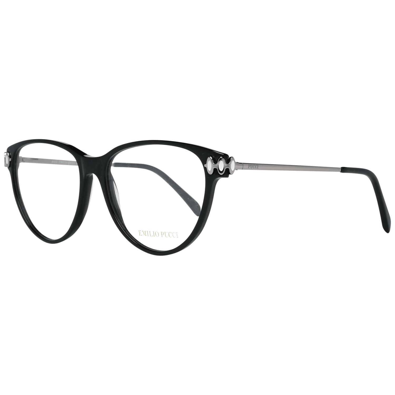 Emilio Pucci Women's Optical Frames Eyewear Black EP5055 55001