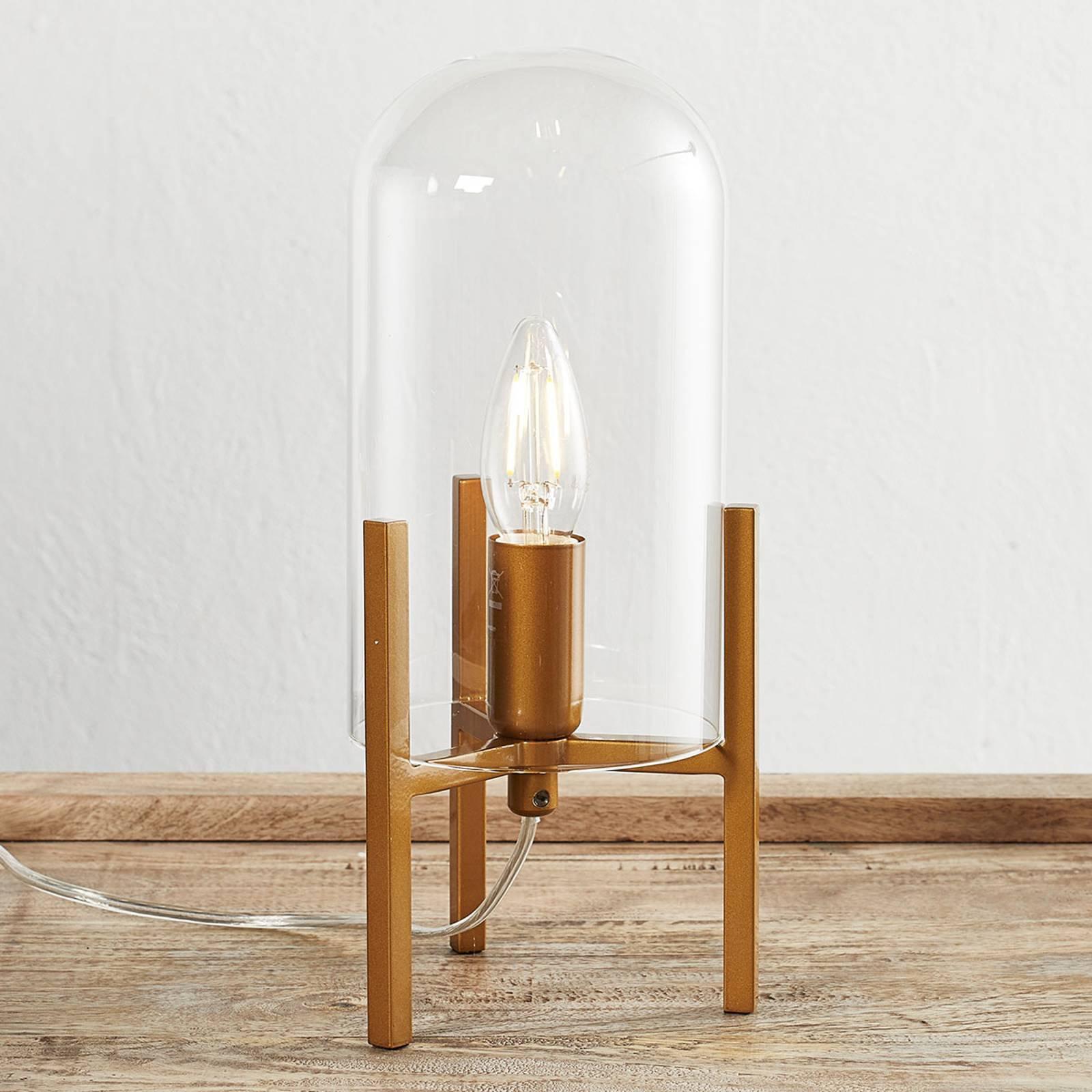 By Rydéns Smokie bordlampe, gull