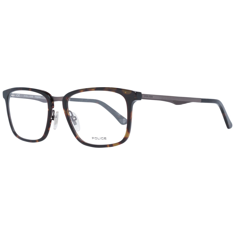 Police Men's Optical Frames Eyewear Brown PL684 520786