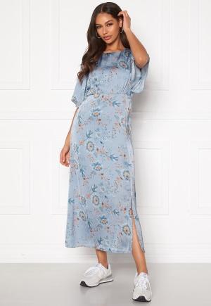 Happy Holly Mila dress Light blue / Patterned 34