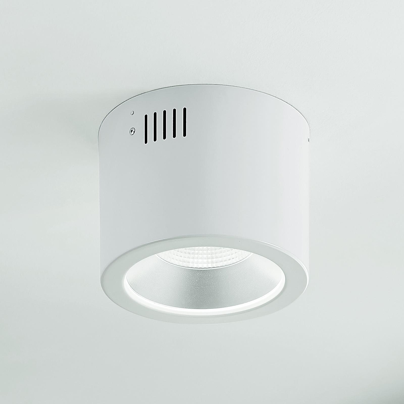 Arcchio Liddy -LED-alasvalo, valkoinen, Ø 17,7 cm