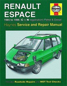 Haynes Reparationshandbok, Renault Espace Petrol & Diesel, Universal