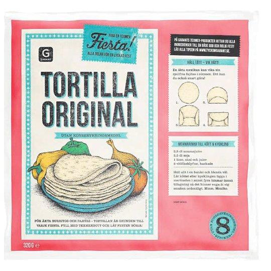 Tortillabröd 8-pack - 35% rabatt