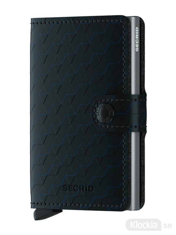 Plånbok SECRID Miniwallet Optical Black-Titanium