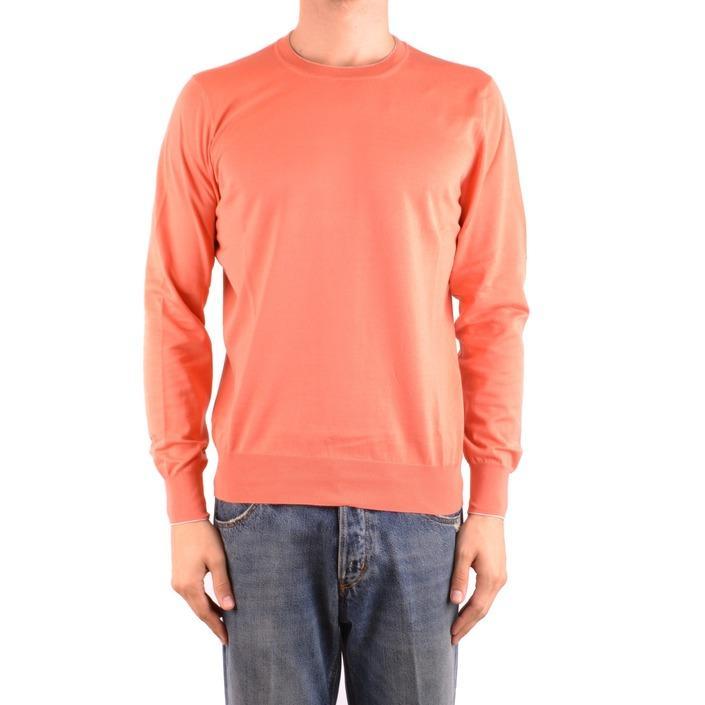 Brunello Cucinelli Men's Sweater Coral 164154 - coral 60