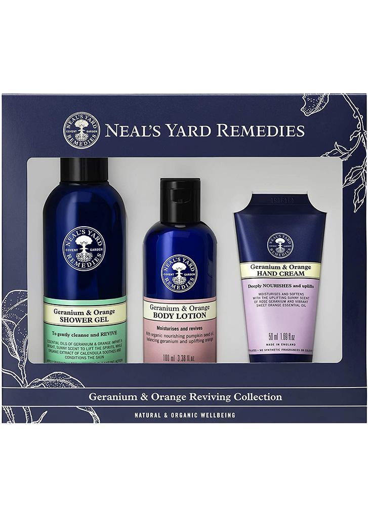 Neal's Yard Remedies Geranium & Orange Reviving Collection