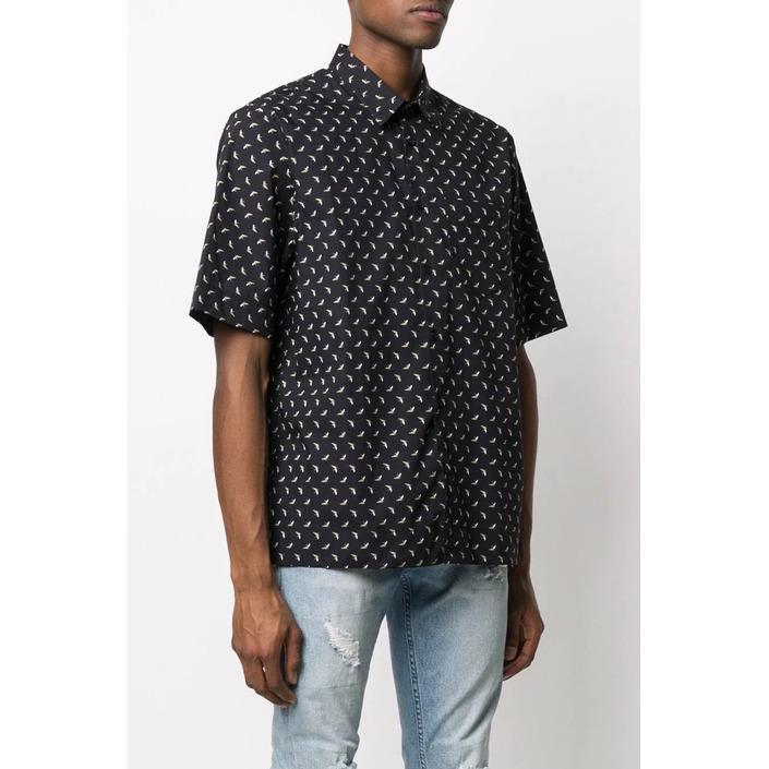 Diesel Men's Shirt Black 287512 - black M