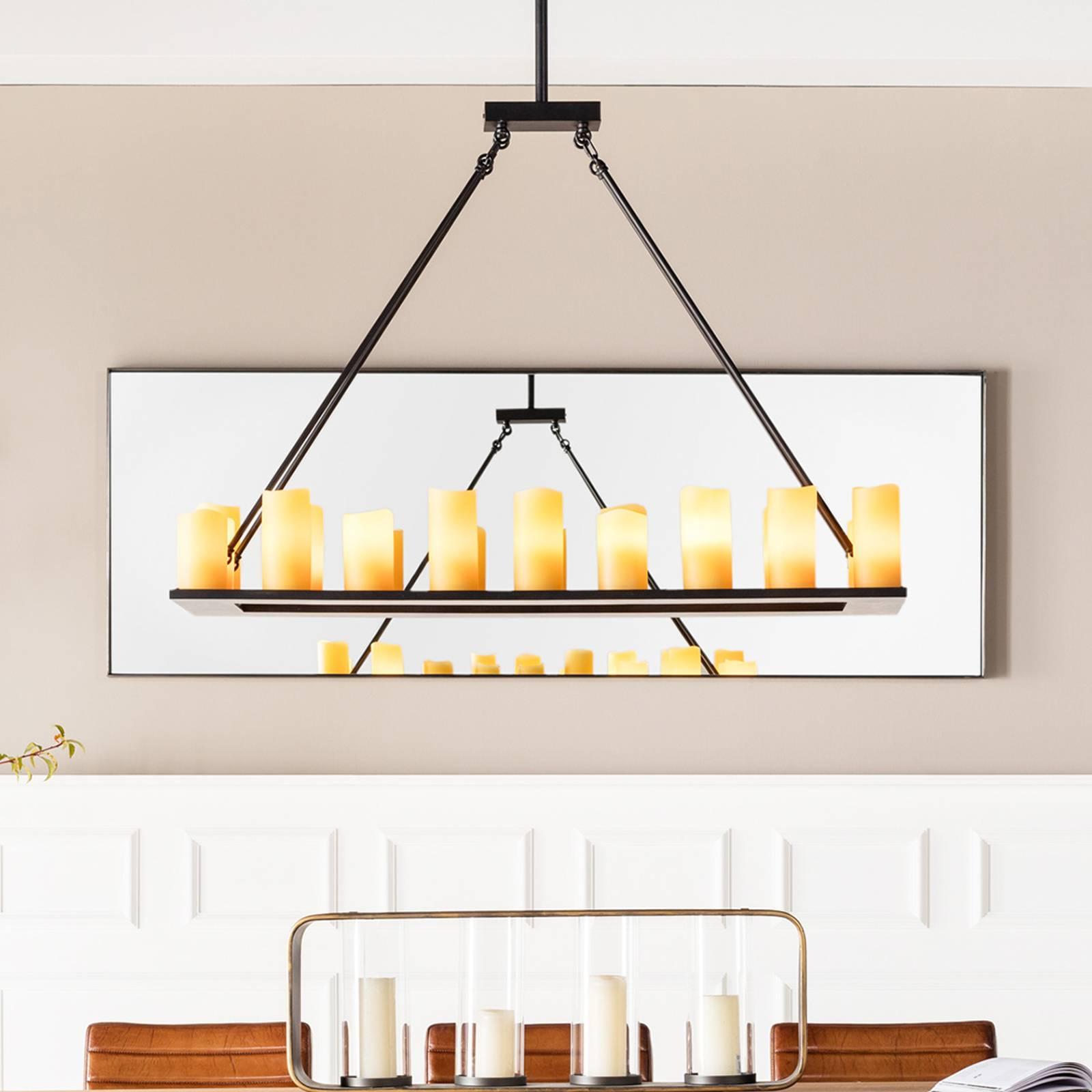 Candle Light -riippuvalaisin, 20-lamppuinen