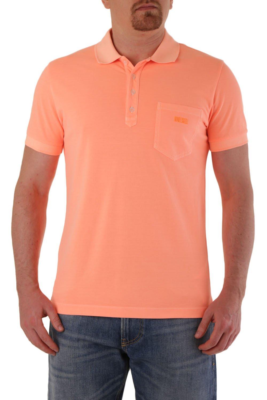 Diesel Men's Polo Shirt Various Colours 283807 - orange-2 L
