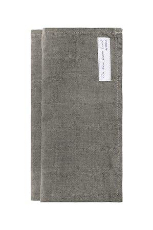 Sunshine Serviett Charcoal 45x45 cm