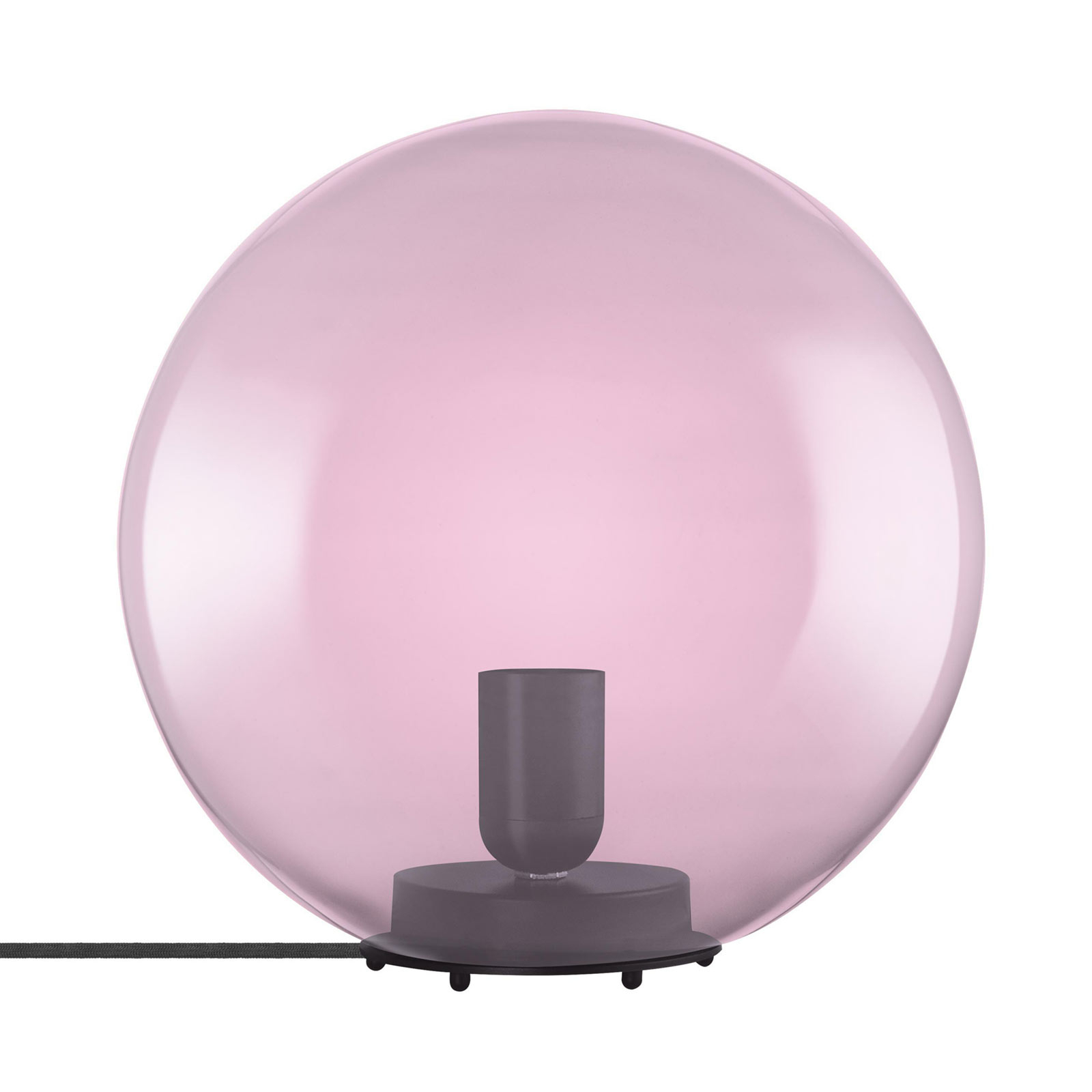LEDVANCE Vintage 1906 -pöytävalaisin Bubble, pink