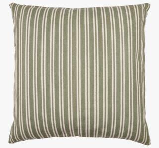 Bolster large stripe koristetyyny vihreä