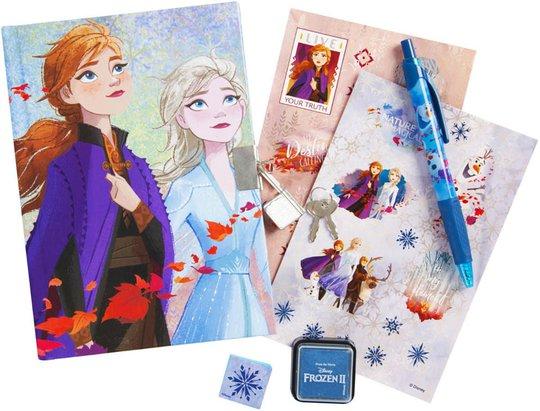 Disney Frozen 2 Dagbok Med Tilbehør