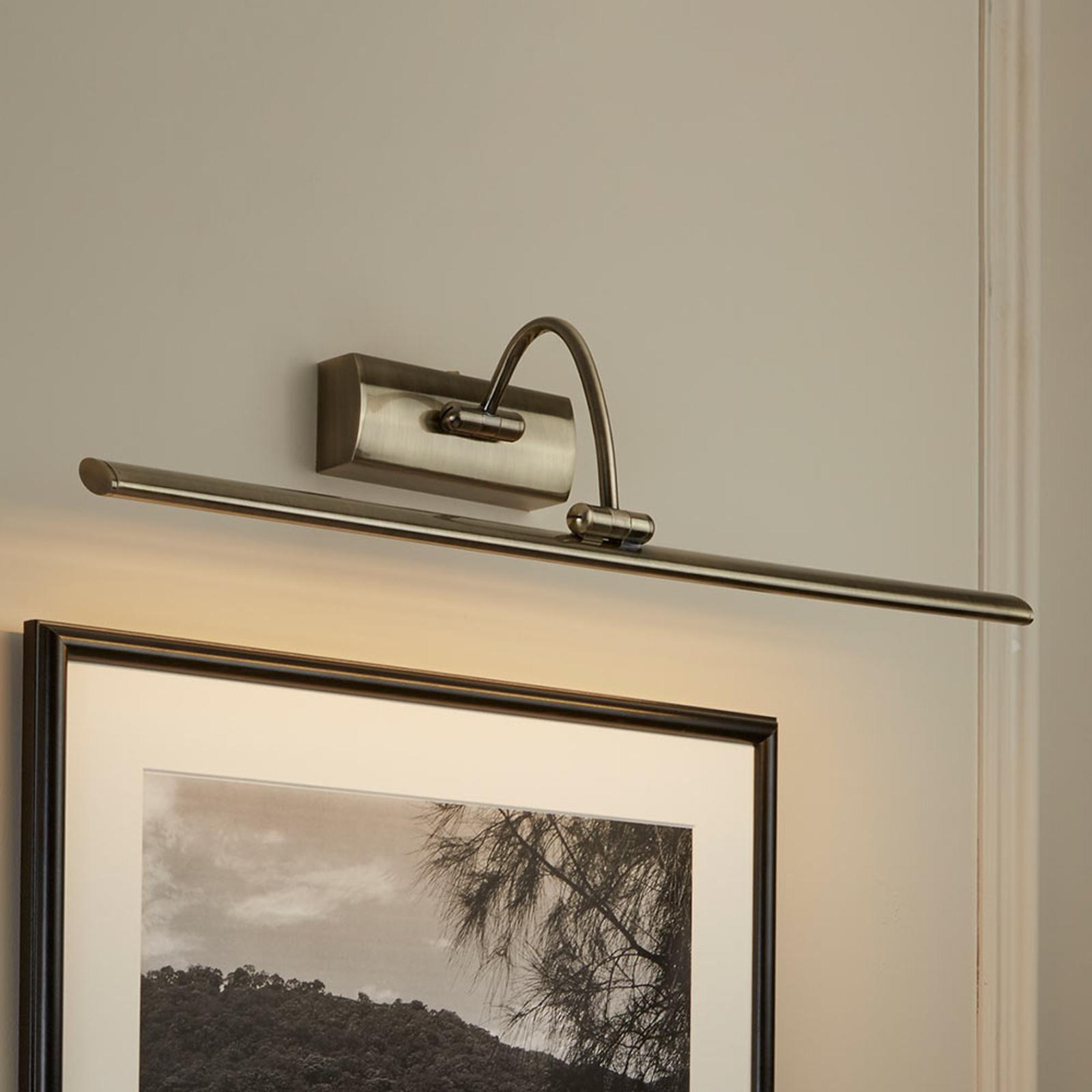 LED-tauluvalaisin Head, säädettävä pää 64 cm