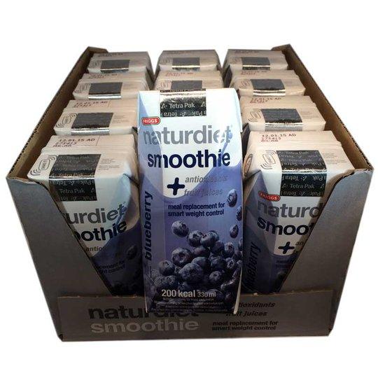 Hel låda Naturdiet smoothie blåbär - 67% rabatt