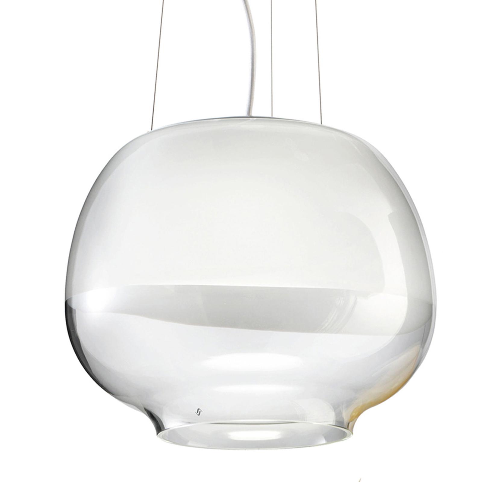 Designer-riippuvalaisin Mirage SP, valkoinen