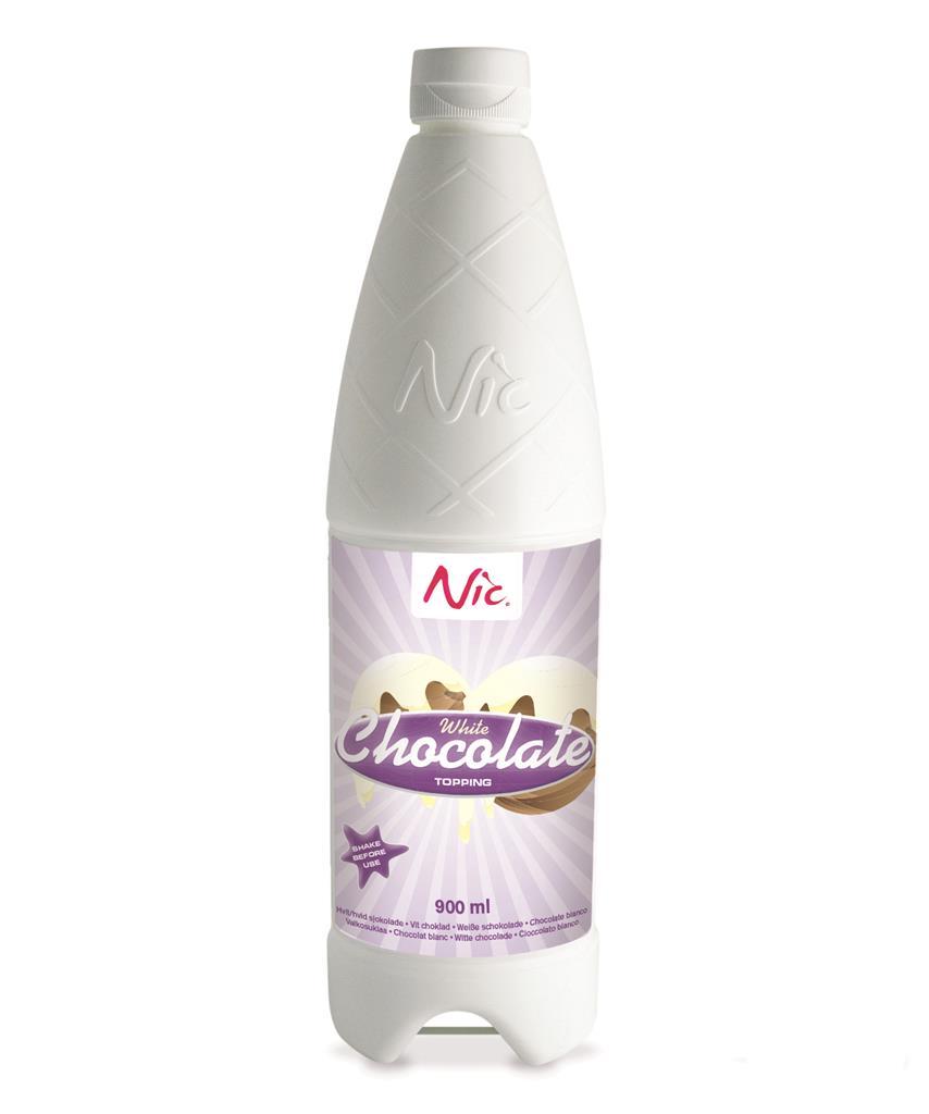 Nic Topping - Vit Choklad 0.9L