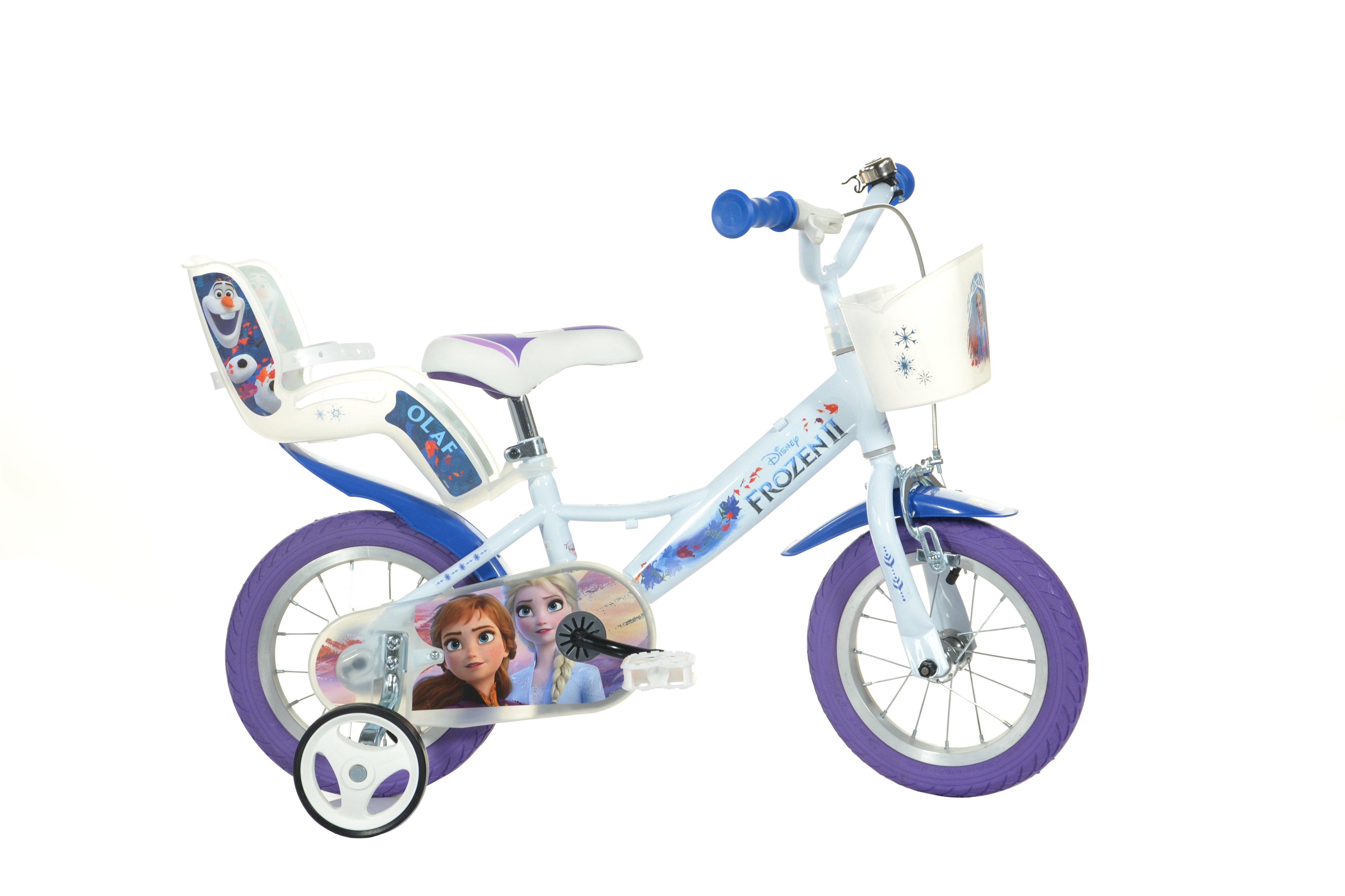 Dino Bikes - Children Bike 12'' - Frozen (124RK-FZ3)