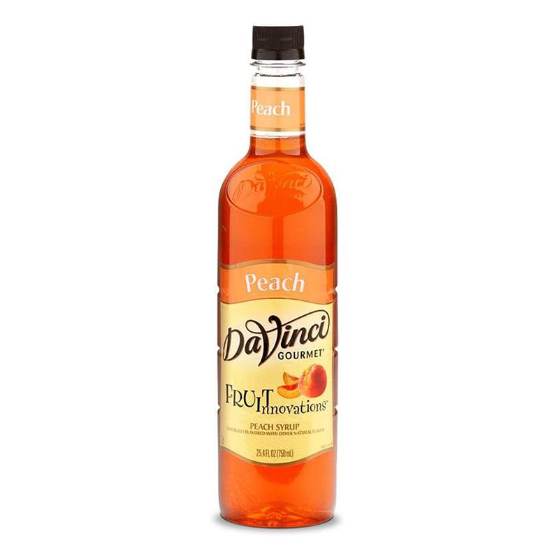 DaVinci Gourmet Syrup Fruit Innovations Peach 750ml