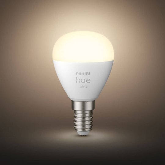 Philips Hue White LED-dråpepære 2x E14 5,7W