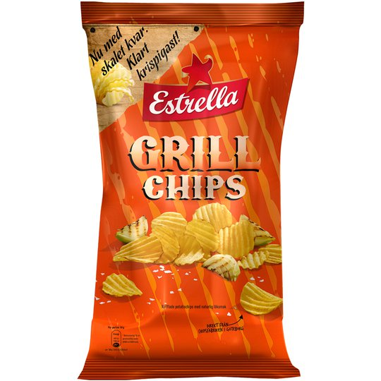 Grillchips - 15% rabatt