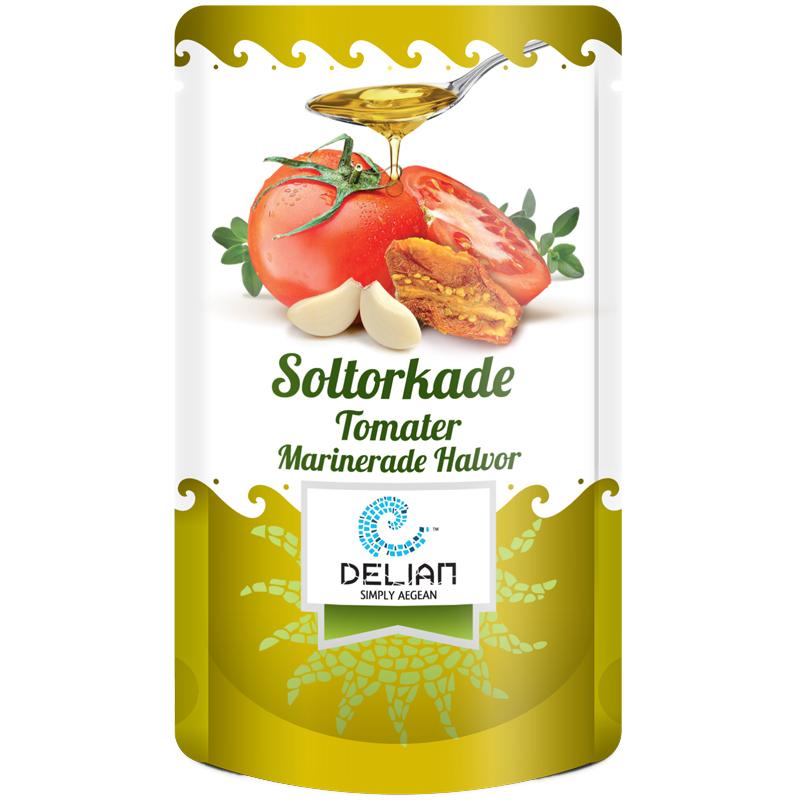 Soltorkade Tomater Marinerade & Halverade 70g - 64% rabatt