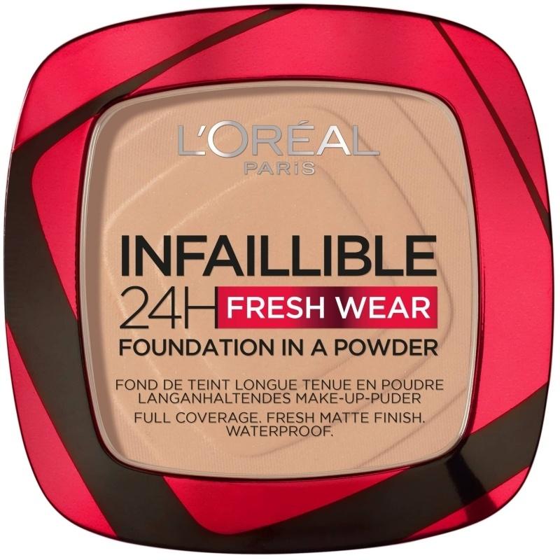 L'Oréal - Infaillible 24h Fresh Wear Powder Foundation - 120 Vanilla
