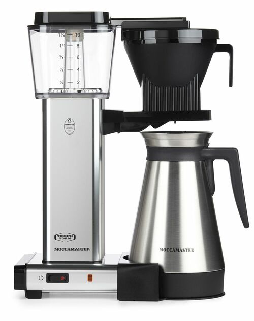 Moccamaster Kbgt741 Kaffebryggare - Aluminium