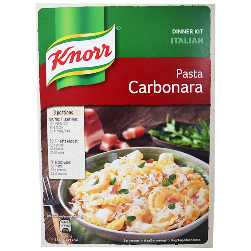 """Pasta Carbonara """"Dinner Kit"""" 203g - 20% rabatt"""
