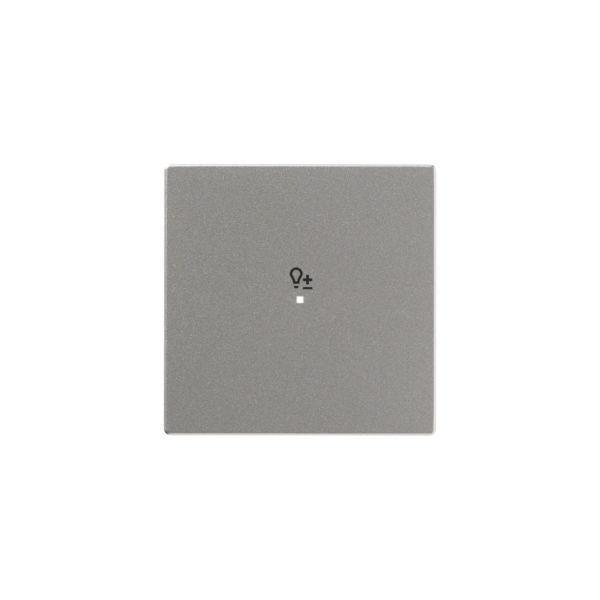 ABB Impressivo 6220-0-0150 Vipupainike yksipäinen Alumiini