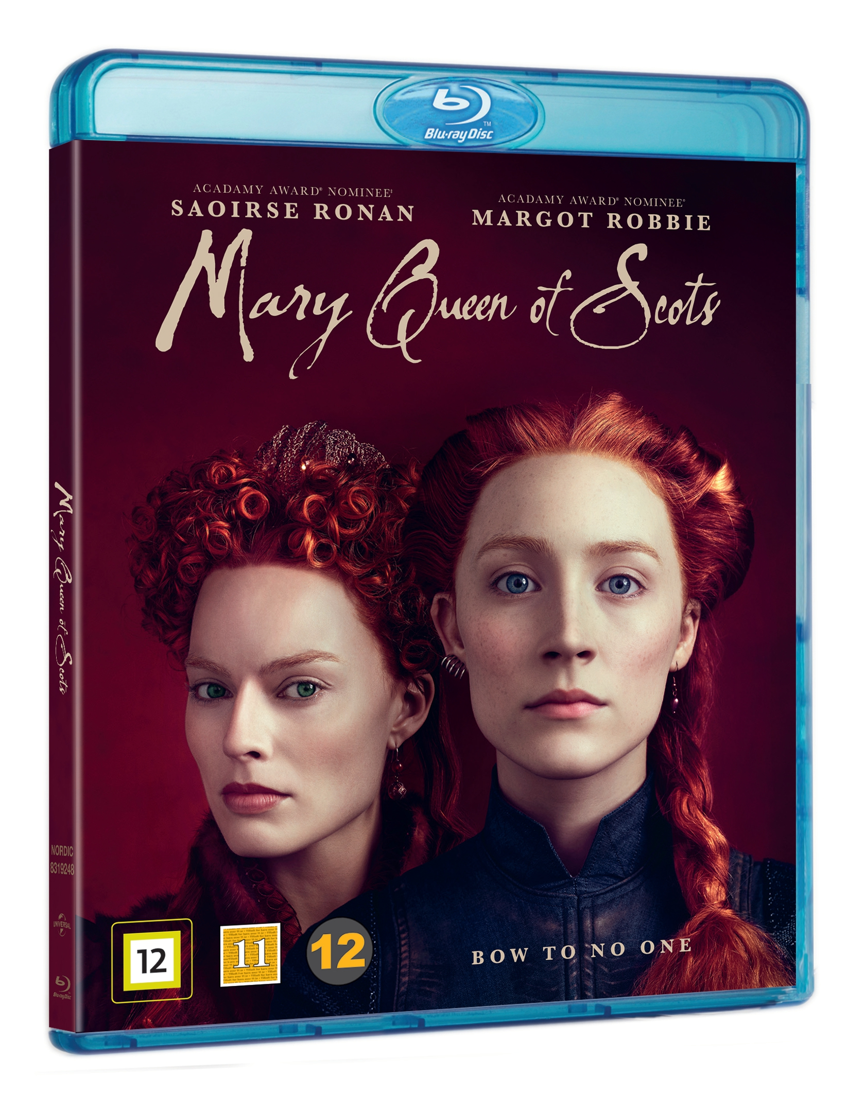 Mary Queen Of Scots Blu Ray