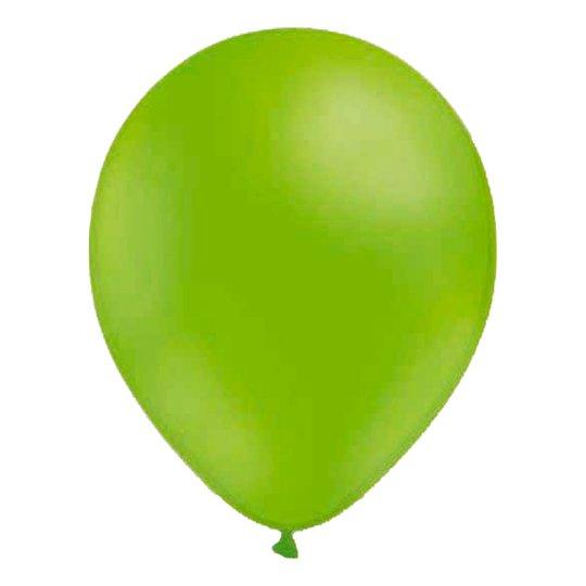 Miniballonger Limegrön - 100-pack