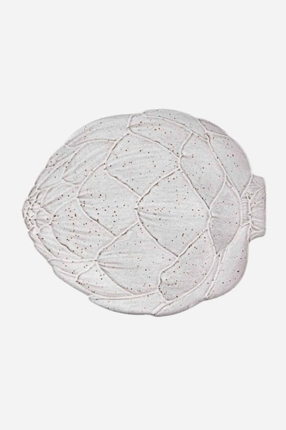 Fat Kronärtskocka 31,5 cm Vit
