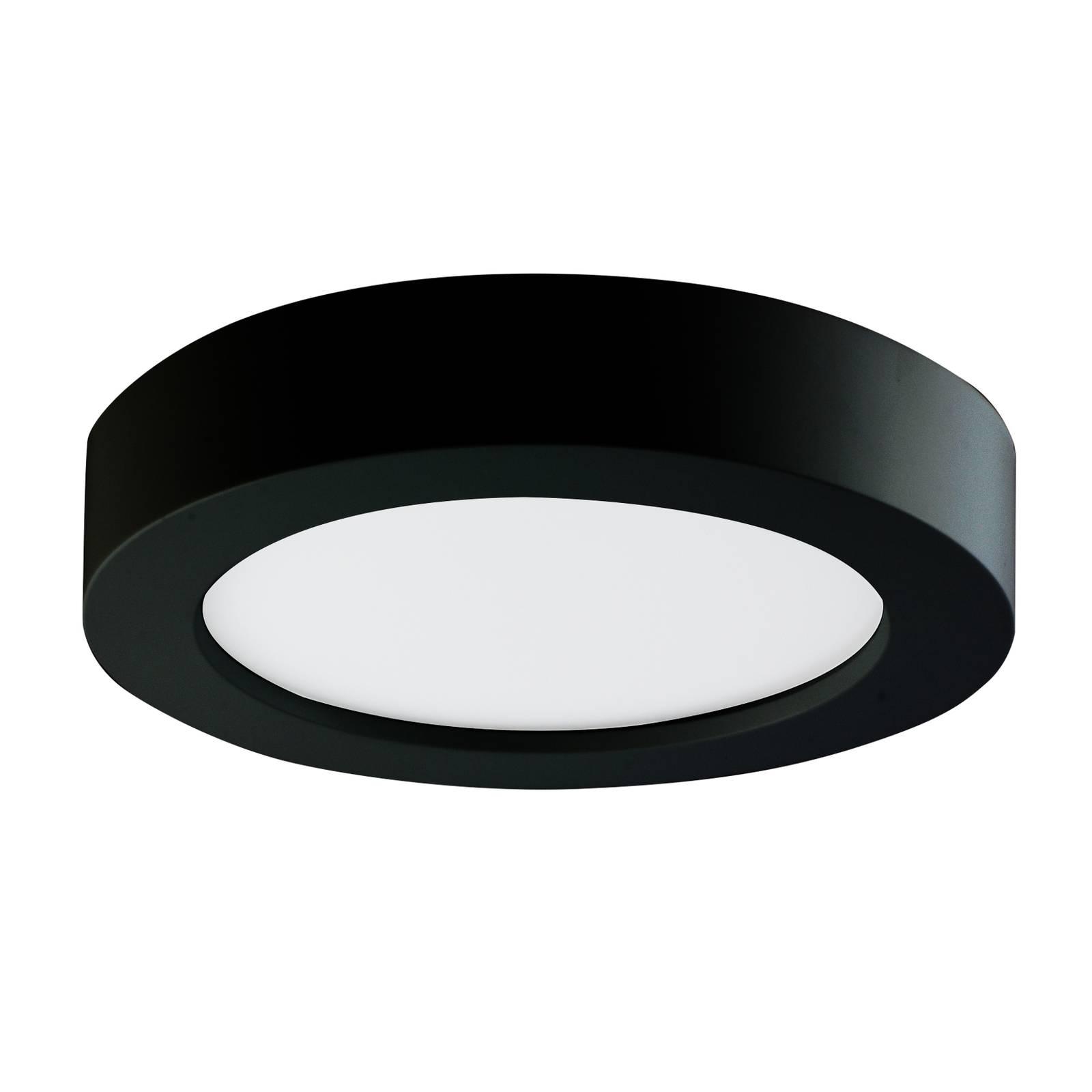 Prios Finto -LED-kattovalaisin, IP44, CCT, 24,5 cm