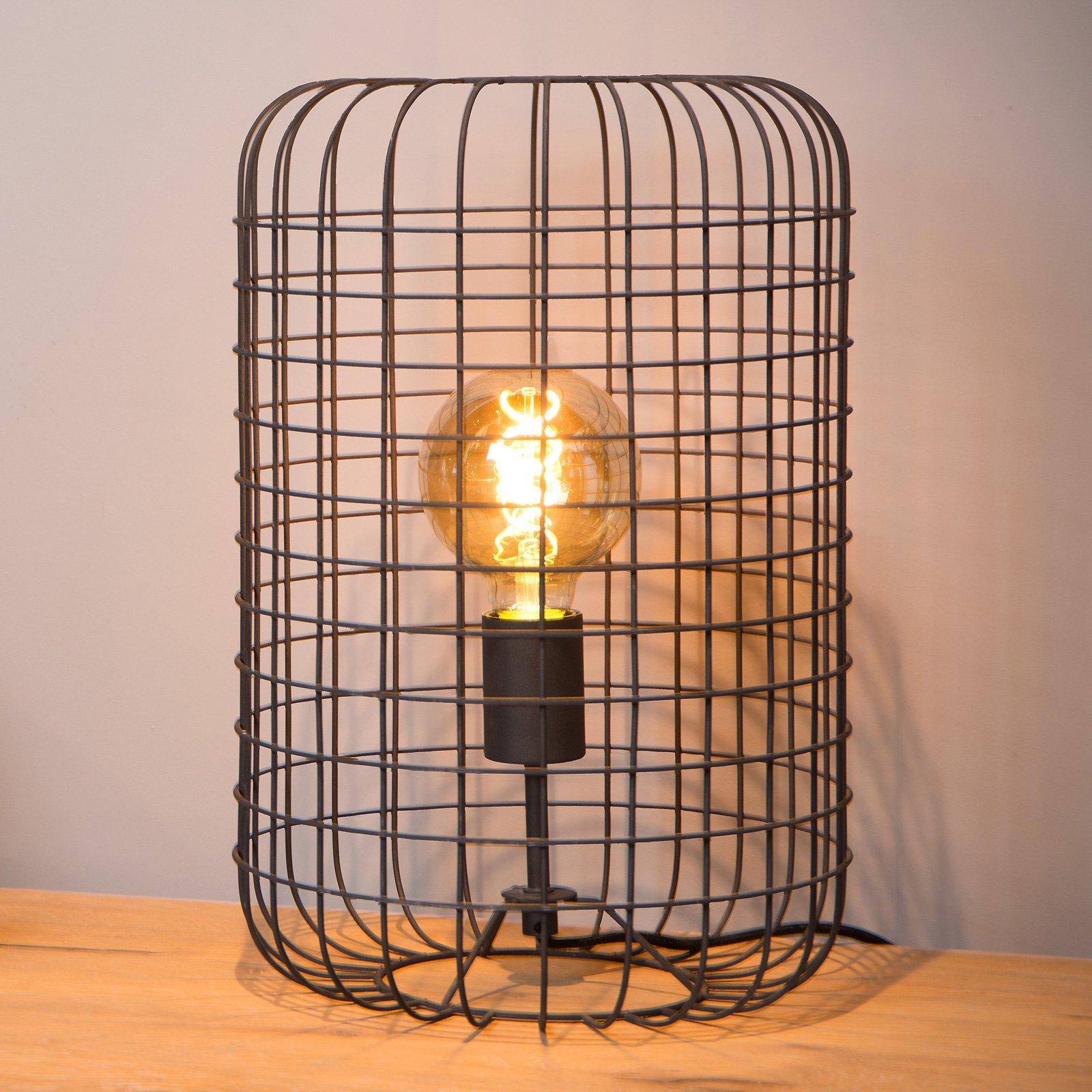 Esmee bordlampe, svart Ø 26 cm