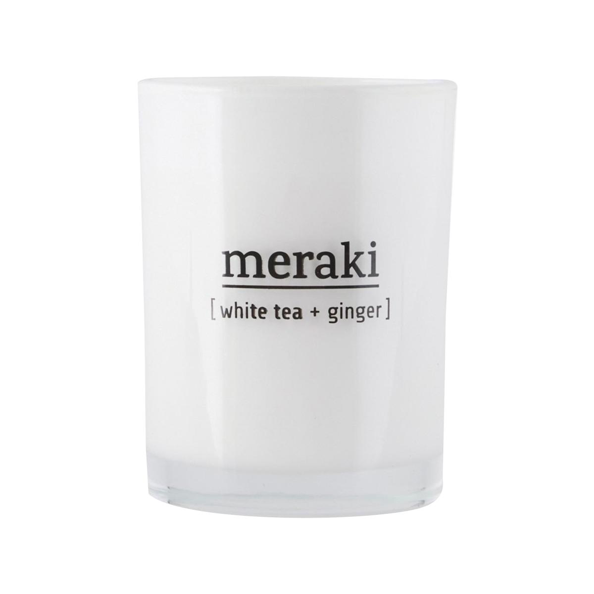 Meraki - Scented Candles - White Tea & Ginger (mkap012/308150012)