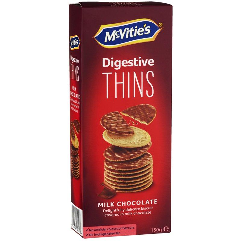 "Vehnäkeksit ""Milk Chocolate"" 150g - 50% alennus"